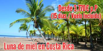 Viaje a Costa Rica   Luna de miel